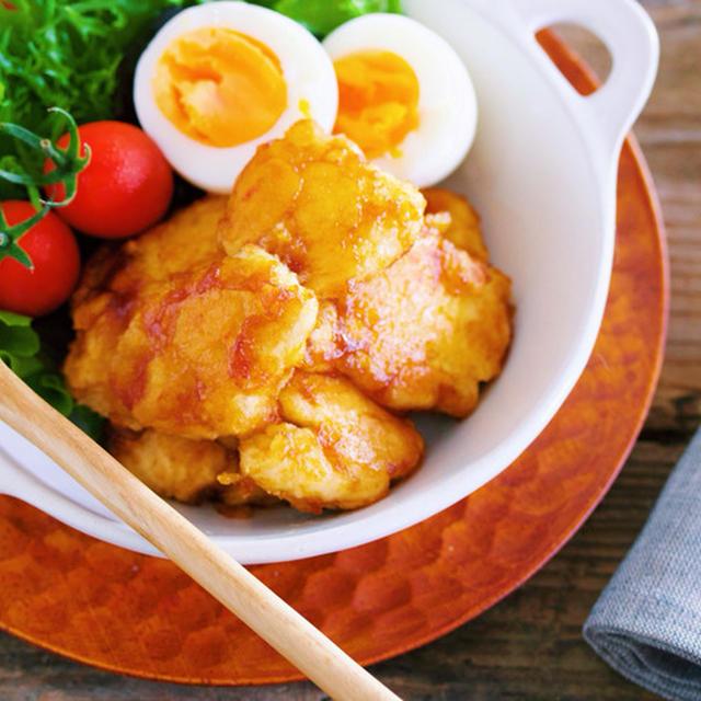 お弁当にも♪コクうま濃厚〜♡『むね肉のオイスターバターソテー』【レシピブログ連載】