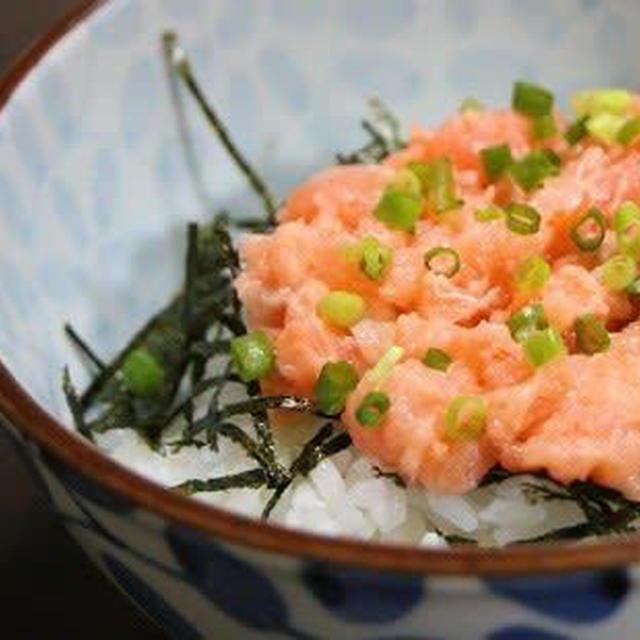 3月31日  サーモン丼