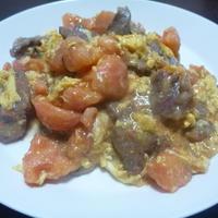 牛肉トマト炒め