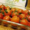 プチトマトのアンチョビアヒージョ