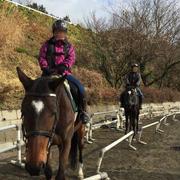 乗馬体験してきました~乗馬クラブ「クレイン」