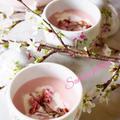 桜のポタージュスープ