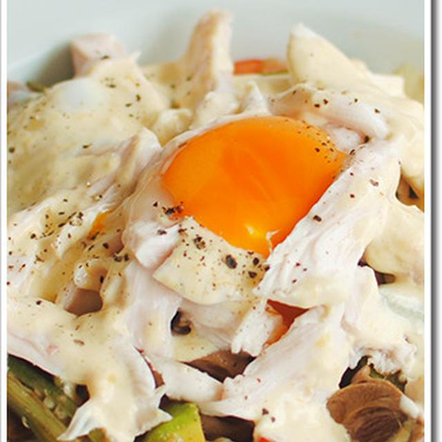 風邪っぴきで気力体力なくても作れるぐらい簡単な鶏むね肉のサラダver.3