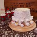 カフェオレシフォンでホワイトクリスマス♡