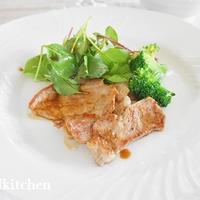 50代からの食習慣 「豚肉の和風バルサミコソテー」