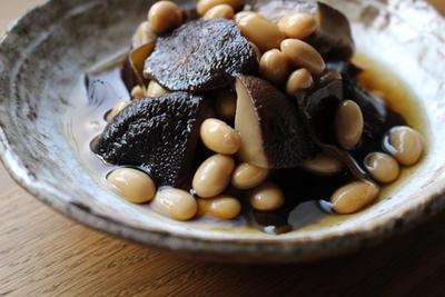 昆布しいたけ豆