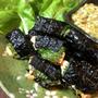 家飲み万歳。鶏大葉海苔と黄身オクラのおつまみセット(糖質3.3g)