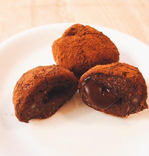 【レシピ】[砂糖不使用]電子レンジで簡単!チョコIN米粉おから甘酒チョコ餅