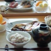 焼魚(干物) de 朝ごはん