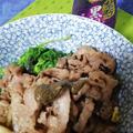 禁断の黒胡椒は!やっぱ肉でしょうか!牛肉白醤油すき焼き丼・・絶好調!
