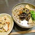 山菜そば&山菜ご飯を作ろう