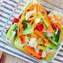 野菜不足を解消する強い味方。彩り温野菜