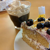 冷凍ブルーベリーを使った!ブルーベリーとグラノーラのショートケーキのレシピ