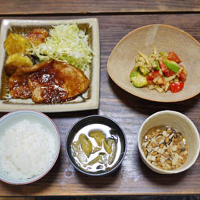 トンテキ ケチャップソース