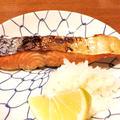 マジカル!秋鮭の粕漬焼☆