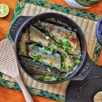 ストウブで炊く!秋刀魚ご飯レシピ