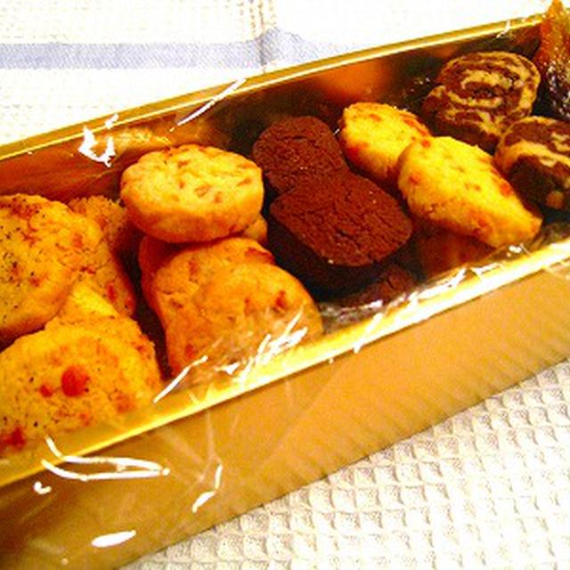バレンタインに!ココア&自家製柚子ピール&マーブル模様のさくさくクッキー、ほろほろ食感のチーズクッキー