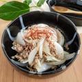 【レシピ】白ご飯に最高!新玉ねぎとひき肉の炒め物