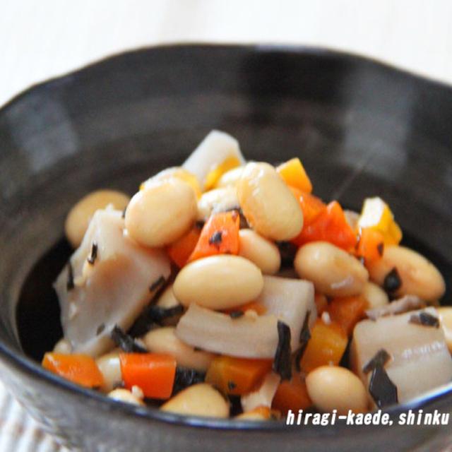 常備菜・お弁当おかずに*野菜まめ煮。離乳食手づかみにも