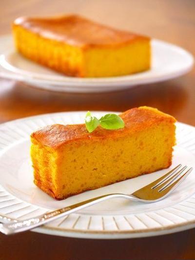ハロウィンの簡単かぼちゃスイーツレシピ「かぼちゃのチーズケーキ」日経ウーマンオンライン掲載