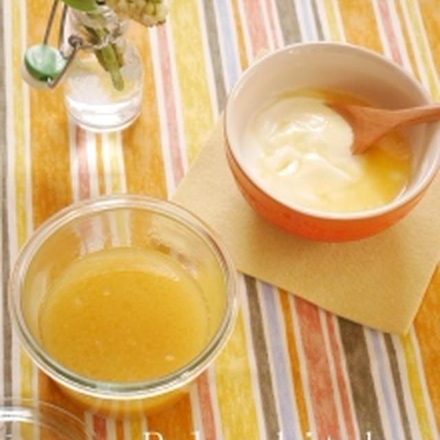 ココナッツオイルとバターで♡レモンカード