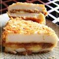 揚げないフライ**【チーズ肉味噌はんぺん~焼フライ】** by food  townさん