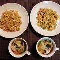 2回目合作「炒飯」☆冷凍水餃子と野菜のスープ♪☆♪☆♪ by みなづきさん