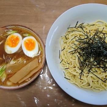 うわさの「桔梗庵」のつけ麺です。