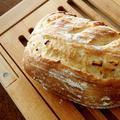 ホシノ酵母オニオンチーズパンでランチ・林檎酵母&にゃ♪