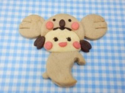 コアラのかぶりものクッキー