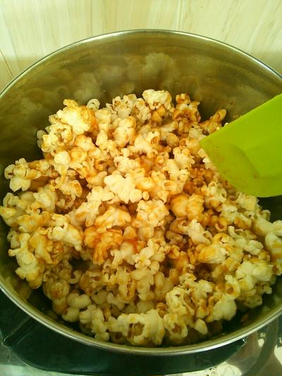 Caramel Pop Corn #recipe #Bali #organic