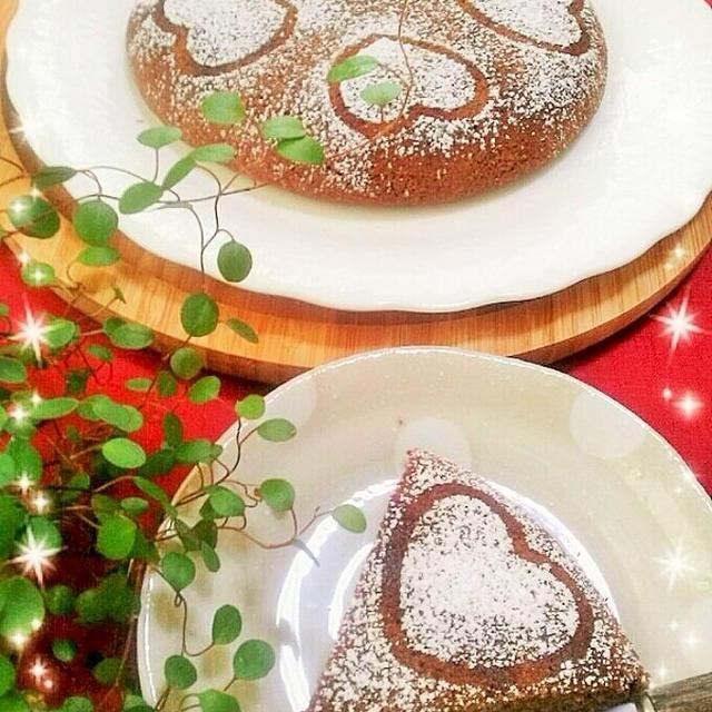 炊飯器deおからのショコラケーキ