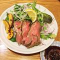 フライパンでローストビーフ 〜特製レモンソースで☆ by 桜子♪さん