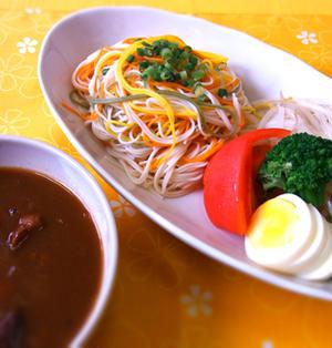 和風カレーつけ素麺