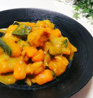 調味料1つ!かぼちゃと鶏肉の和風トロトロ煮