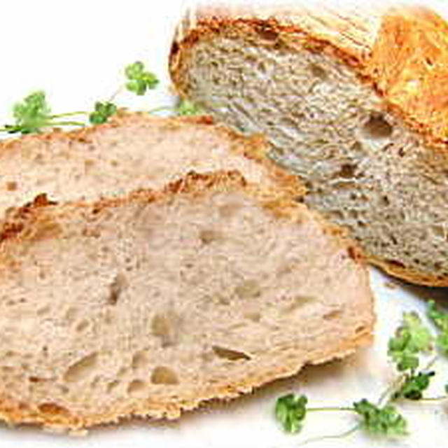 リーンなパンレシピ♪パン・ド・カンパーニュ