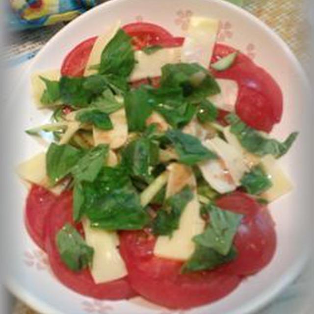 イタリアン・トマトサラダ ~ 今日のひと品