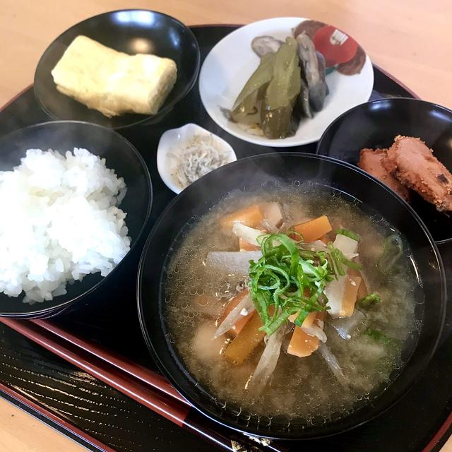 食物繊維が多い根菜と発酵食品で腸活 根菜たっぷりの豚汁
