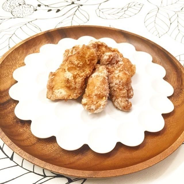 鶏むね肉で絶対美味しい唐揚げ(切り方、漬け方、揚げ方のコツ伝授)