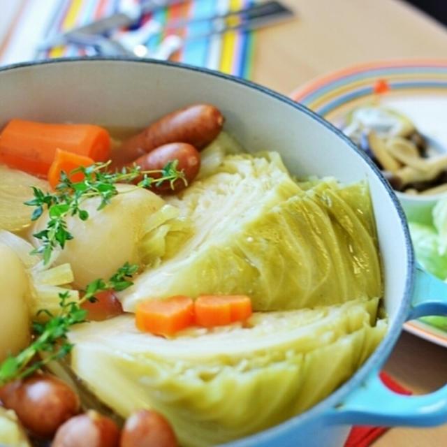 ■冬野菜たっぷりポトフであったかブランチ