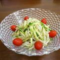 【簡単レシピ】もやしと胡瓜のさっぱりレモン風味♪