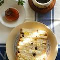 レーズンパンの卵サンドとソースかつ丼弁当