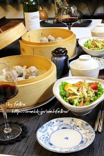 ◆椎茸シュウマイで中華なおうちごはん♪~ゆるやか糖質制限中♪