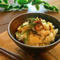山菜炊き込みご飯*和食day♡