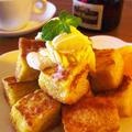 オレンジの香り♪ちょっぴり大人なフレンチトースト by みぃさん