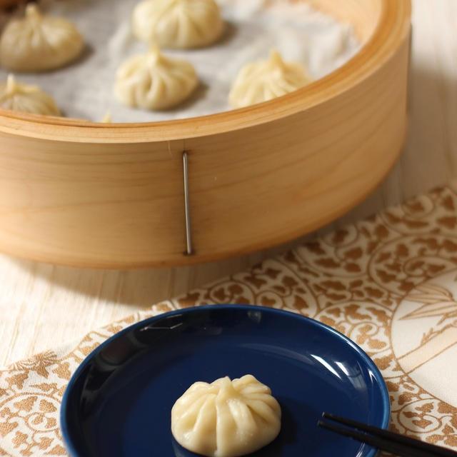 塩卵 小籠包  Y+I Kitchenのお料理教室「中国の家庭料理」と「お料理&エクササイズ」