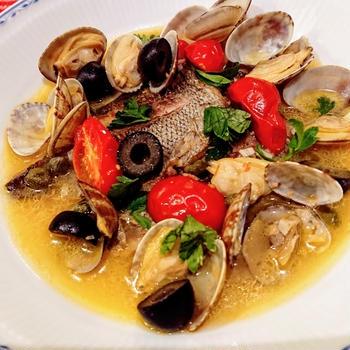 アクアパッツァ 【#おもてなし #魚料理】