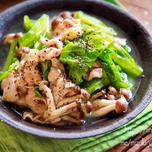 ♡あっさりコクうま♡豚肉とキャベツの塩バター煮♡【#簡単レシピ#時短#節約】