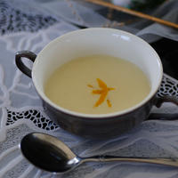 薩摩芋とかぼすのポタージュ(レシピ付き)