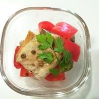 【スパイス大使♡コリアンダー〈ホール〉:焼き鯖のマリネ】